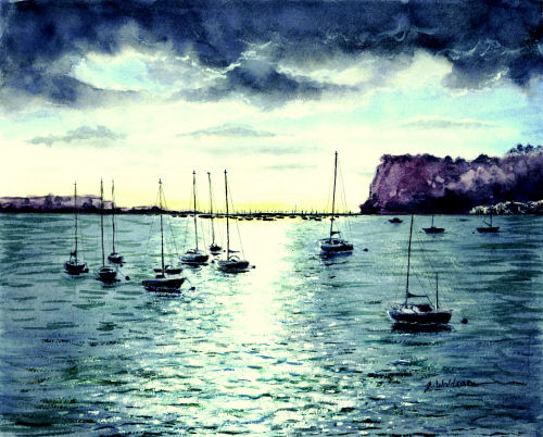 The Ness and Teignmouth by Jeanette Waldron