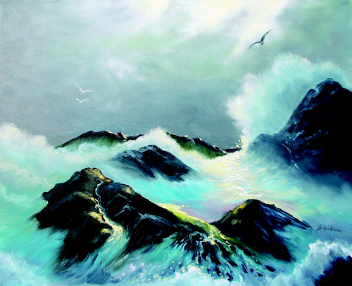 Wild Seas by Jeanette Waldron