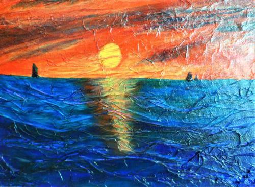 Sunset by Audrey Gowan
