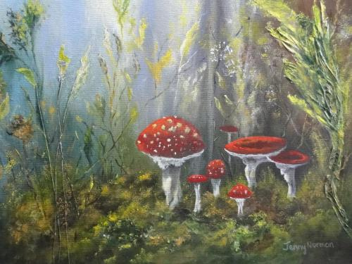 Fairy Ring by Jenny Norman
