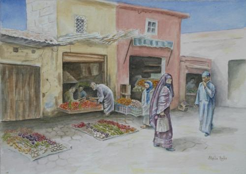 Market Day by Sheila Ralls