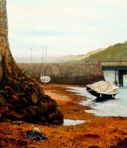Low Tide Shaldon by Barbara Armstrong