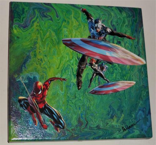 Super Heroes by Audrey Gowan