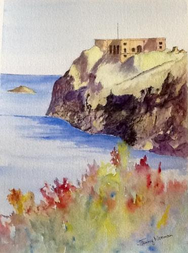 St Catherine's Rock by Jenny Norman