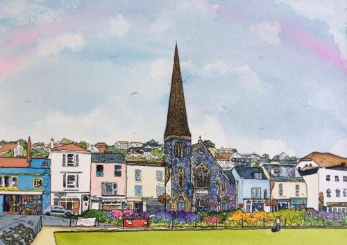 The Strand, Dawlish  by Kathryn Loram